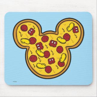 Trendy Mickey | Head-Shaped Pizza Mouse Pad