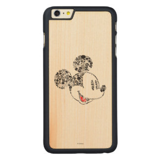 Trendy Mickey | Icons & Phrases Carved Maple iPhone 6 Plus Case