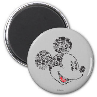 Trendy Mickey | Icons & Phrases Magnet