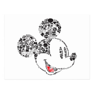 Trendy Mickey | Icons & Phrases Postcard