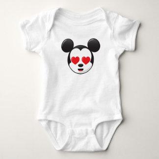 Trendy Mickey | In Love Emoji Baby Bodysuit