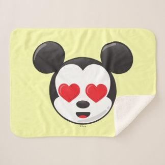 Trendy Mickey | In Love Emoji Sherpa Blanket