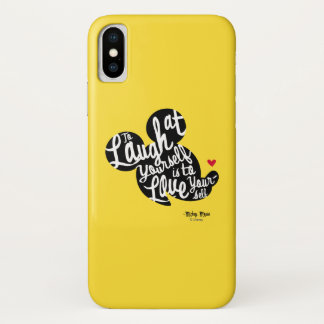 Trendy Mickey | Laugh At Yourself Case-Mate iPhone Case