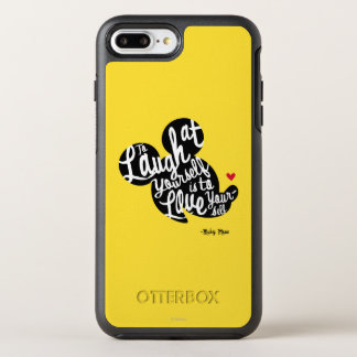 Trendy Mickey   Laugh At Yourself OtterBox Symmetry iPhone 7 Plus Case