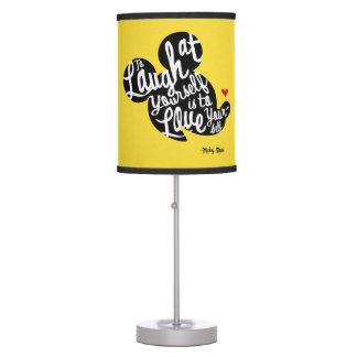Trendy Mickey | Laugh At Yourself Table Lamp