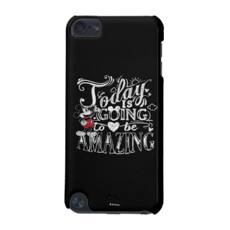 Trendy Mickey   Today Is Going To Be Amazing iPod Touch (5th Generation) Case