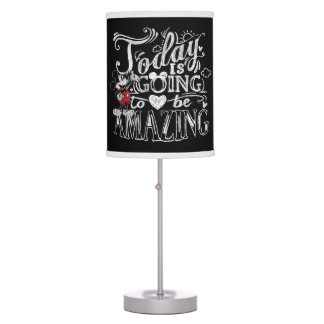 Trendy Mickey | Today Is Going To Be Amazing Table Lamp