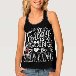 Trendy Mickey | Today Is Going To Be Amazing Tank Top