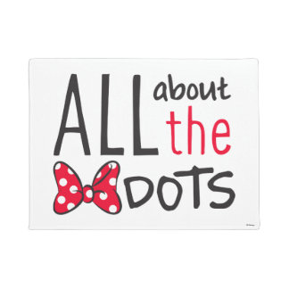 Trendy Minnie | All About The Dots Doormat