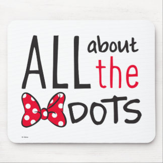 Trendy Minnie | All About The Dots Mouse Pad