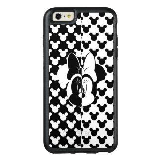 Trendy Minnie | Black & White Modern OtterBox iPhone 6/6s Plus Case