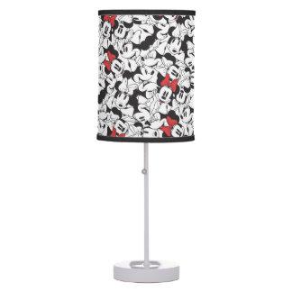 Trendy Minnie | Classic Pattern Desk Lamps