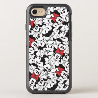 Trendy Minnie | Classic Pattern OtterBox Symmetry iPhone 7 Case