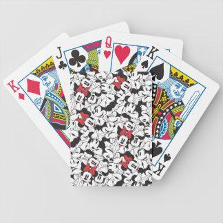 Trendy Minnie | Classic Pattern Poker Deck