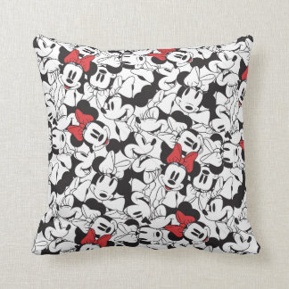 Trendy Minnie | Classic Pattern Throw Pillow