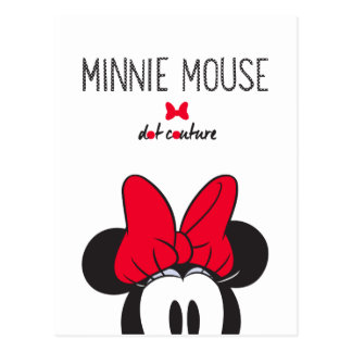 Trendy Minnie | Dot Couture Postcard
