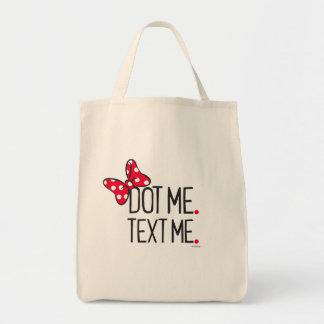 Trendy Minnie | Dot Me. Text Me. Tote Bag