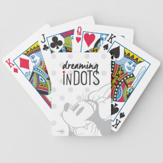 Trendy Minnie | Dreaming In Dots Poker Deck