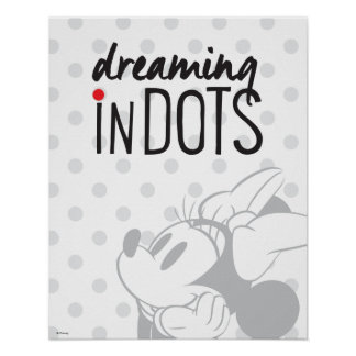 Trendy Minnie | Dreaming In Dots Poster