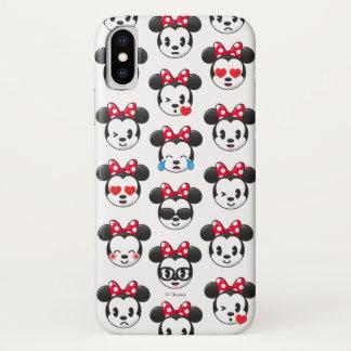 Trendy Minnie | Emoji Pattern iPhone X Case
