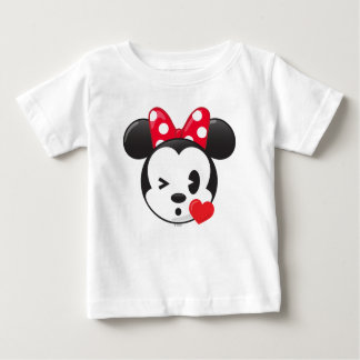 Trendy Minnie | Flirty Emoji Baby T-Shirt