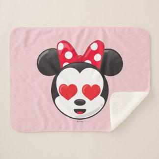 Trendy Minnie | In Love Emoji Sherpa Blanket