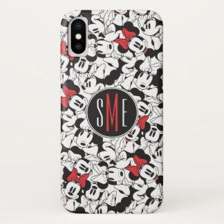 Trendy Minnie | Monogram Classic Pattern iPhone X Case