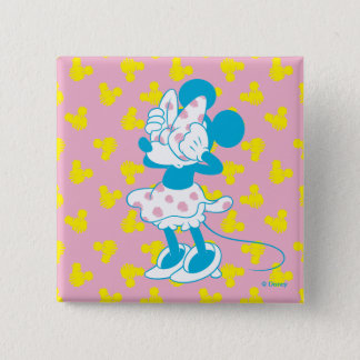Trendy Minnie | Peek A Boo 2 Inch Square Button