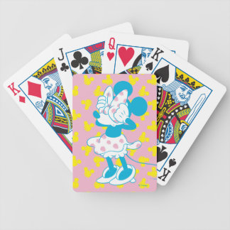 Trendy Minnie | Peek A Boo Bicycle Playing Cards