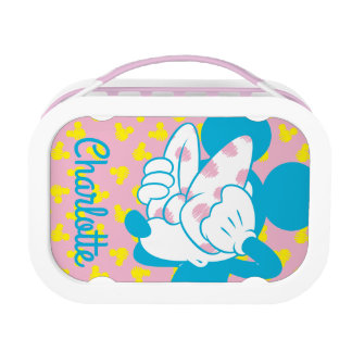 Trendy Minnie | Peek A Boo - Personsalized Lunch Box