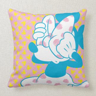 Trendy Minnie | Peek A Boo Throw Pillow