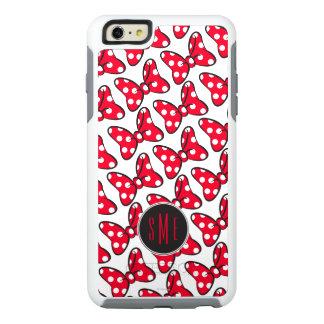Trendy Minnie | Polka Dot Bow Monogram OtterBox iPhone 6/6s Plus Case