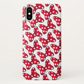 Trendy Minnie | Polka Dot Bow Pattern Case-Mate iPhone Case