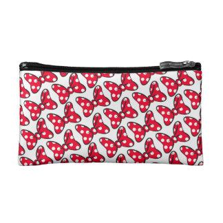 Trendy Minnie | Polka Dot Bow Pattern Cosmetic Bag