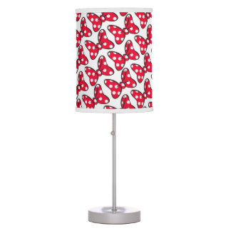 Trendy Minnie | Polka Dot Bow Pattern Table Lamps