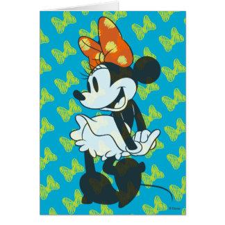 Trendy Minnie | Shy Pose Card