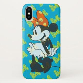 Trendy Minnie | Shy Pose iPhone X Case