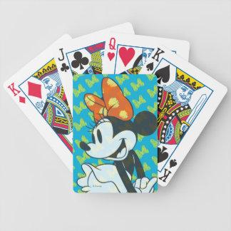 Trendy Minnie | Shy Pose Poker Deck