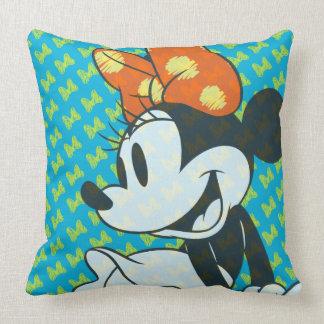 Trendy Minnie | Shy Pose Throw Pillow