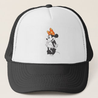 Trendy Minnie | Shy Pose Trucker Hat