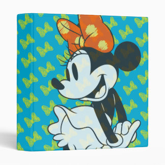 Trendy Minnie | Shy Pose Vinyl Binder