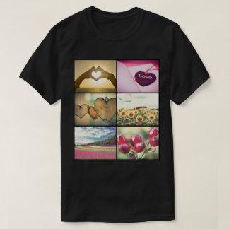 Trendy modern custom photo collage T-Shirt