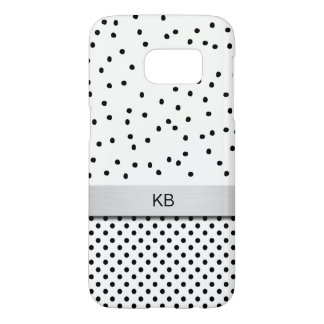 Trendy Modern Monogram Smartphone cases
