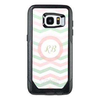Trendy Monogram Design OtterBox Samsung Galaxy S7 Edge Case