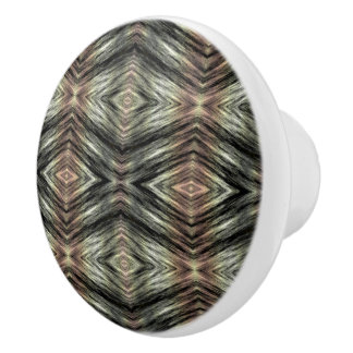 Trendy Mosaic Native American Indian Tribe Pattern Ceramic Knob