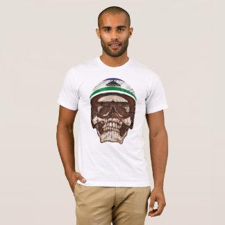 Trendy Mosotho Rider Skull T-Shirt