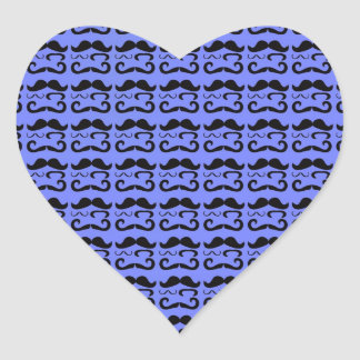 Trendy Mustache Pattern Stickers