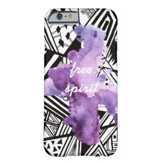 Trendy pattern Purple Splash iPhone6/6s case