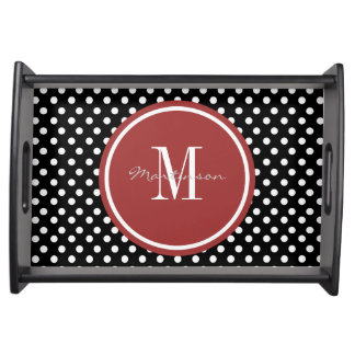 Trendy Patterns Personalized Serving Tray
