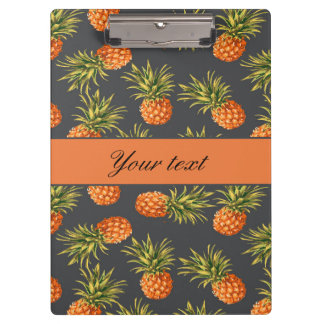 Trendy Personalized Pineapple Clipboard